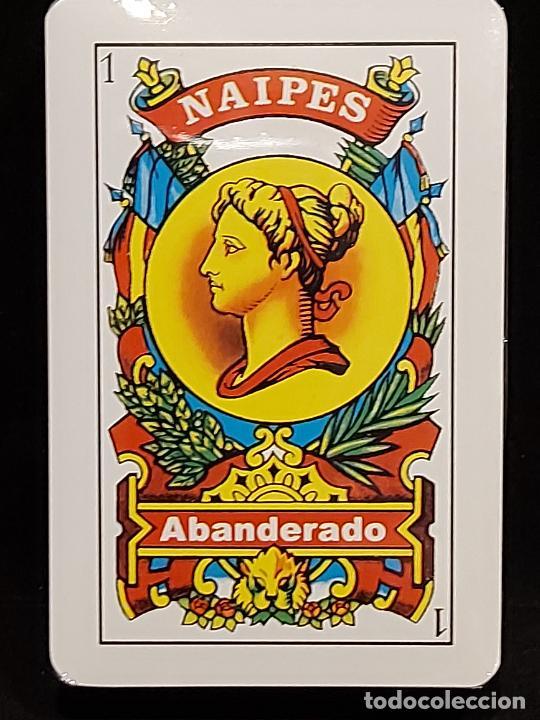 BARAJA / NAIPES ABANDERADO / PRECINTADA SIN ABRIR. (Juguetes y Juegos - Cartas y Naipes - Baraja Española)