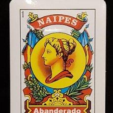 Barajas de cartas: BARAJA / NAIPES ABANDERADO / PRECINTADA SIN ABRIR.. Lote 289740438