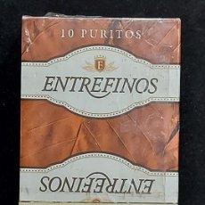 Barajas de cartas: BARAJA FOURNIER / ENTREFINOS 10 PURITOS / 50 CARTAS / PRECINTADA SIN ABRIR.. Lote 289740953