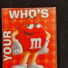 Barajas de cartas: BARAJA / M&M'S - PLAYING CARDS / WHO'S YOUR CANDY ? / PRECINTADA SIN ABRIR.. Lote 289742558