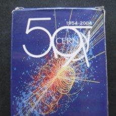 Barajas de cartas: BARAJA POKER 50 ANIVERSARIO CERN. Lote 289831383