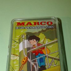 Barajas de cartas: EL VIAJE DE MARCO SEGUNDA PARTE DE LOS APENINOS A LOS ANDES BARAJA FOURNIER 1976 NUEVA. Lote 290630628