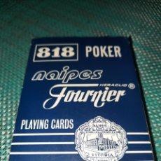 Barajas de cartas: NAIPES HERACLIO FOURNIER VITORIA,PLAYING CARDS 818 POKER ,55 CARDS GIGANTES. Lote 292606943