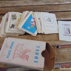 Barajas de cartas: TAROT BARAJA EGIPCIA HECHO EN MEXICO ,USADA ,COMERCIAL Y MANUFACTURAS. Lote 293235823