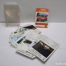 Barajas de cartas: BARAJA 35 CARTAS HERACLIO FOURNIER COCHES DEPORTIVOS AÑOS 70. Lote 293816663