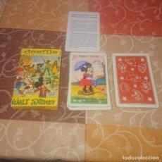 Mazzi di carte: BARAJA INFANTIL FOURNIER DESFILE WALT DISNEY. Lote 293931048