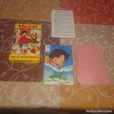 Mazzi di carte: BARAJA INFANTIL FOURNIER HEIDI. Lote 293932258