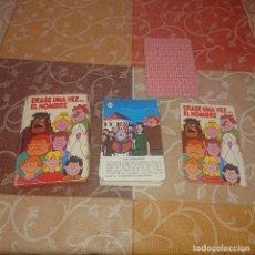 Mazzi di carte: BARAJA INFANTIL FOURNIER ERASE UNA VEZ.. EL HOMBRE. Lote 293932778