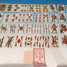 Barajas de cartas: BARAJA NAIPE NACIONAL HIJOS DE HERACLIO FOURNIER GUERRA CIVIL 1937. Lote 293942488