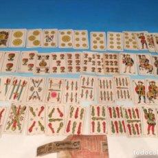 Barajas de cartas: BARAJA GUARRO Y CIA ESCUDO DE BARCELONA 1907. Lote 293947273