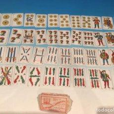 Barajas de cartas: BARAJA JUAN ROURA DOS MUNDOS LA HISPANOAMERICANA 1932. Lote 293948328