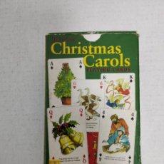 Barajas de cartas: JUEGO DE NAIPES COMPLETO - CHRISMAS CAROLS - 1999. Lote 293979183