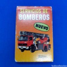 Barajas de cartas: BARAJA FOURNIER. SERVICIOS DE BOMBEROS. AÑOS 80. SIN USAR. Lote 294036213