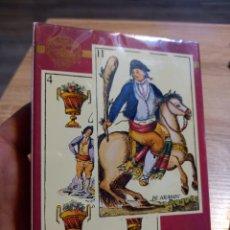 Barajas de cartas: BARAJA DE CARTAS ,GOYESCA 1815 ,PRECINTADA. Lote 294070543