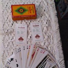Barajas de cartas: BARAJA DE CARTAS TAROT FOURNIER DEDICADO A LA REGION ALPINA. COMPLETA.. Lote 295455653