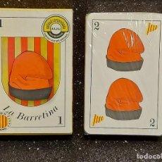 Barajas de cartas: BARAJA LA BARRETINA / LES CARTES CATALANES / PRECINTADA EN CAJA ORIGINAL .. Lote 295506048