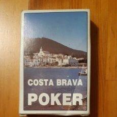 Barajas de cartas: BARAJA DE CARTAS - POKER - CONSERVA JOKER (MIRAR FOTO) - COSTA BRAVA. Lote 295614333