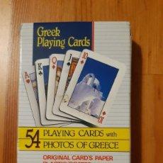Barajas de cartas: BARAJA DE CARTAS - POKER - CONSERVA JOKER (MIRAR FOTO) - GREEK. Lote 295614543