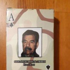 Barajas de cartas: BARAJA DE CARTAS - POKER - CONSERVA JOKER (MIRAR FOTO) - SADDAM HUSSEIN AL-TIKRITI. Lote 295614838
