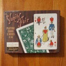 Barajas de cartas: BARAJA DE CARTAS - POKER - CONSERVA JOKER (MIRAR FOTO) - VANITY FAIR. Lote 295615813