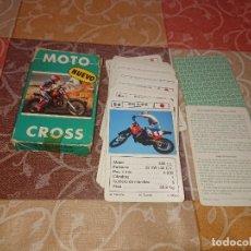 Barajas de cartas: FOURNIER BARAJA INFANTIL MOTO CROSS 1987. Lote 295693583
