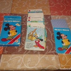Barajas de cartas: FOURNIER BARAJA INFANTIL MICKEY MOUSE 1984. Lote 295694683