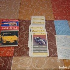 Barajas de cartas: FOURNIER BARAJA INFANTIL COCHES DE LUJO 1998. Lote 295696643