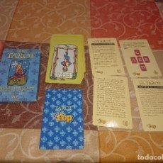 Barajas de cartas: BARAJA INFANTIL SUPER POP TAROT COMPLETA. Lote 295703108