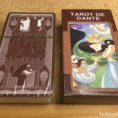 Barajas de cartas: BARAJA - ( LO SCARABEO ) CARTAS TAROT DE DANTE -( NUEVA Y PRECINTADA ) REF 3. Lote 296736183