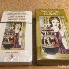 Barajas de cartas: BARAJA - ( LO SCARABEO ) CARTAS TAROT DEL OLIMPO -( NUEVA Y PRECINTADA ) REF 5. Lote 296736903