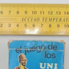 Barajas de cartas: BARAJA COMPLETA 42 CARTAS EL JUEGO DE LOS UNIFORMES AÑOS 70 ENVIO CERTIFICADO GRATUITO. Lote 296791153