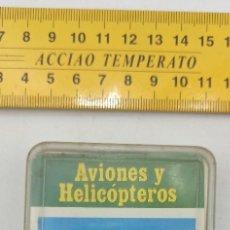 Barajas de cartas: BARAJA INCOMPLETA (FALTA 1 ) CARTAS AVIONES Y HELICOPTEROS FOURNIER ENVIO CERTIFICADO GRATUITO. Lote 296791433