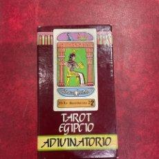 Barajas de cartas: TAROT EGIPCIO DE NAIPES COMAS. Lote 296852468