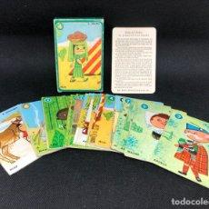 Barajas de cartas: BARAJA COMPLETA CON INSTRUCCIONES EL JUEGO DE LAS RAZAS EDICIONES RECREATIVAS 1960. Lote 296966773