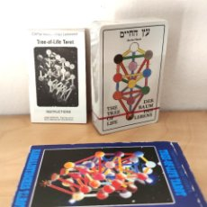 Barajas de cartas: KABBALISTISCHES TAROT TREE OF LIFE - VAN LEEUWEN Y CAMPHAUSEN - AGMULLER 1983. Lote 297060578