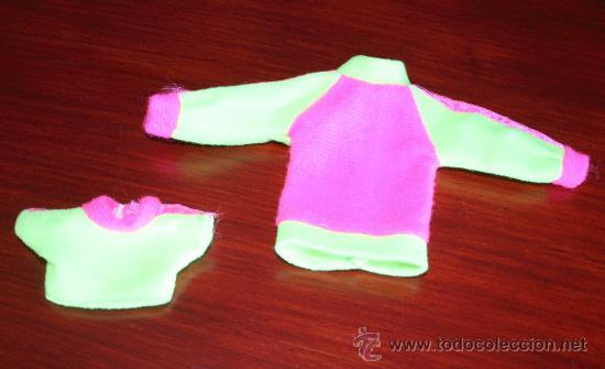 CAMISETA Y SUDADERA PARA MUÑECA (Juguetes - Muñeca Extranjera Moderna - Barbie y Ken - Vestidos y Accesorios)
