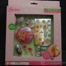 Barbie y Ken: SET DE BELLEZA ORIGINAL DE BARBIE MODELO 20067073. Lote 27637845
