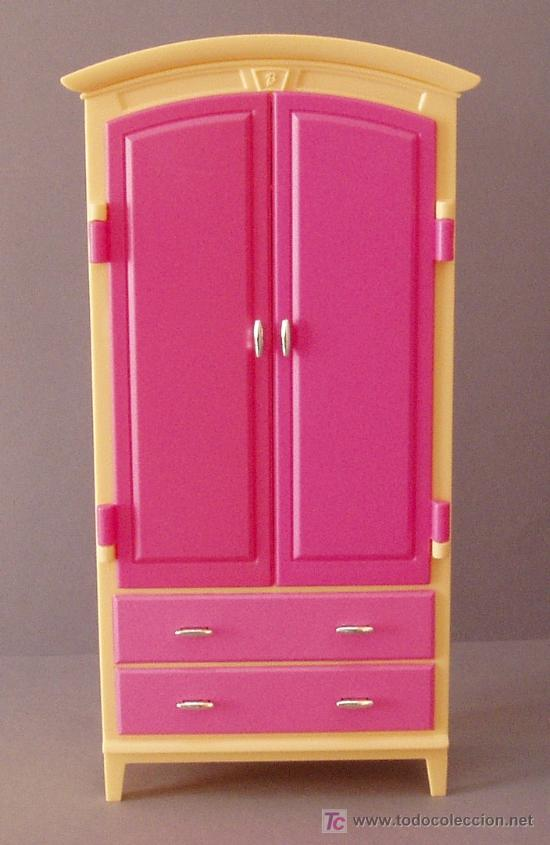 Muebles barbie armario ropero comprar barbie y ken for Muebles para barbie