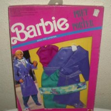 Barbie y Ken: TRAJE KEN PRET-A-PORTER,BOGART,MATTEL ITALY 1990,BARBIE,CAJA ORIGINAL,MODA ITALIANA,A ESTRENAR. Lote 23121798