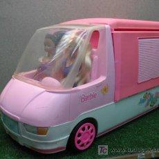Barbie y Ken: (BARBIE) AUTOCARABANA CON MUÑECAS. Lote 20702119
