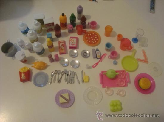 Lote accesorios cocina barbie comprar barbie y ken for Accesorios cocina online