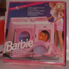 Barbie y Ken: BARBIE LAVADORA Y SECADORA, DE MATTEL, EN CAJA ( GA-32 ) CC. Lote 26672317