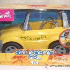 Barbie y Ken: COCHE CALIFORNIA GIRL DE BARBIE,2003,MATTEL,4X4,CAJA ORIGINAL,A ESTRENAR. Lote 23943671