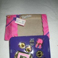 Barbie y Ken: CAJA CON JUEGO DE CAFE DE BAIE. Lote 242336470