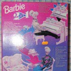 Barbie y Ken: BARBIE 2 IN 1 SOFAS SOFA Y PIANO MATTEL. Lote 27134514