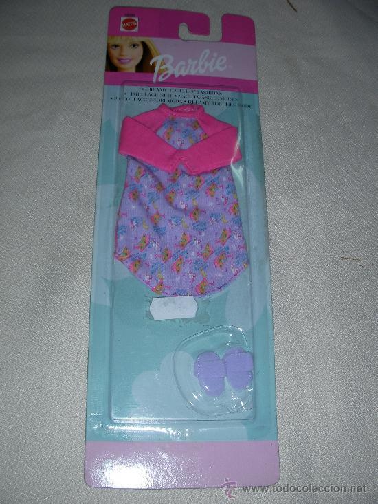ANTIGUO BLISTER CONJUNTO BARBIE 2 (Juguetes - Muñeca Extranjera Moderna - Barbie y Ken - Vestidos y Accesorios)