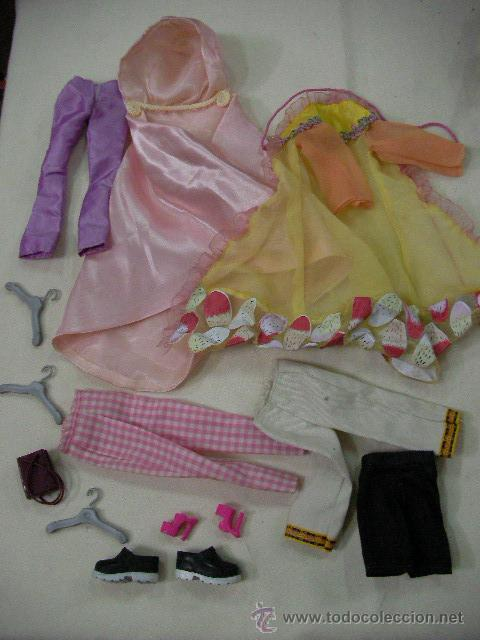 LOTE ROPAS Y OTROS BARBIE - ENVIO GRATIS A ESPAÑA (Juguetes - Muñeca Extranjera Moderna - Barbie y Ken - Vestidos y Accesorios)