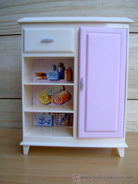 Mueble para cuarto de baño para barbie - marcad - Verkauft ...