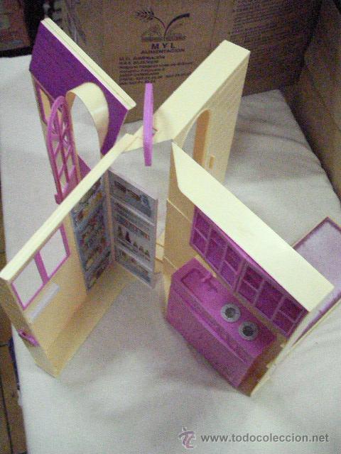 CASA MALETIN PARA MUÑECA BARBIE O SIMILAR (Juguetes - Muñeca Extranjera Moderna - Barbie y Ken - Vestidos y Accesorios)