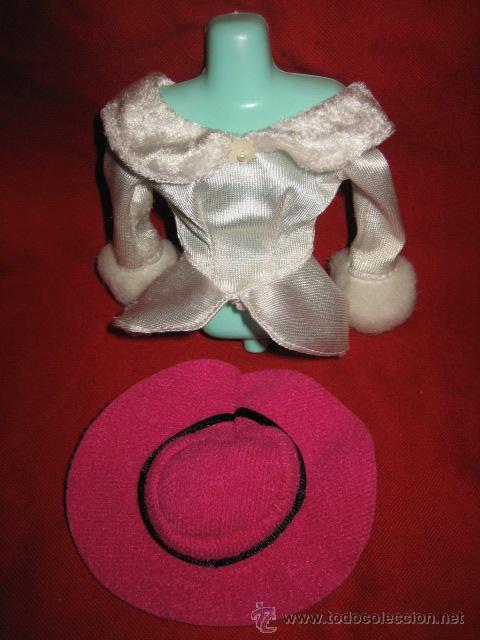 BARBIE CUERPO Y SOMBRERO (Juguetes - Muñeca Extranjera Moderna - Barbie y Ken - Vestidos y Accesorios)